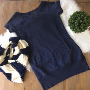 OLD NAVY Women's MED SS Tunic Sweatshirt Dress